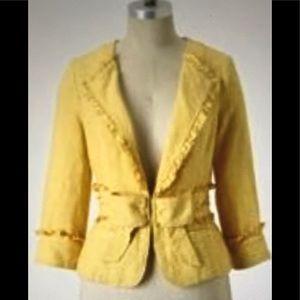Anthropologie Idra Linen Jacket *New